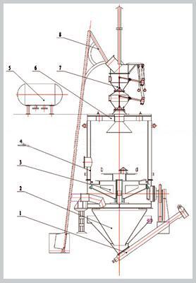 cg1q-2单段式煤气发生炉结构图(w-g改型)-淄博义天